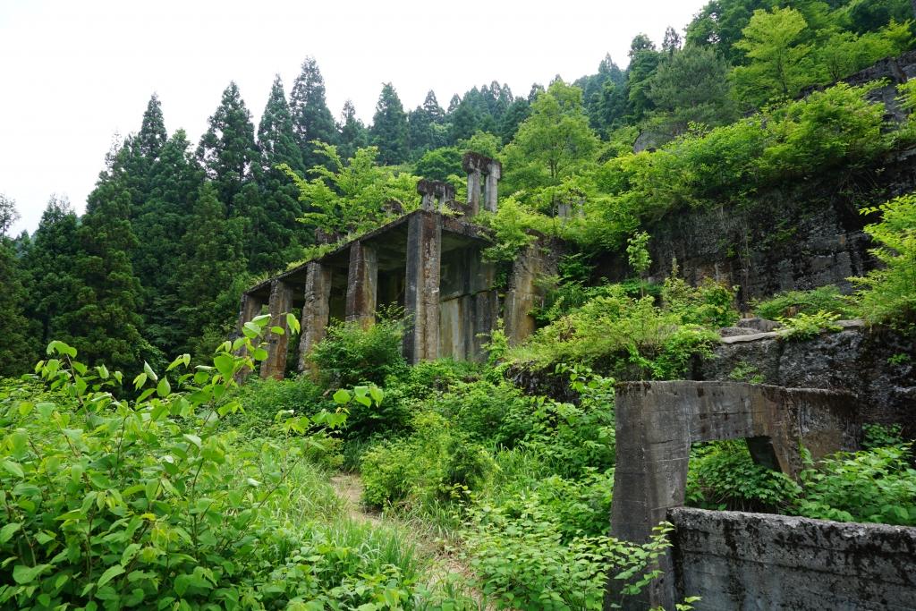 土倉鉱山跡メイン画像