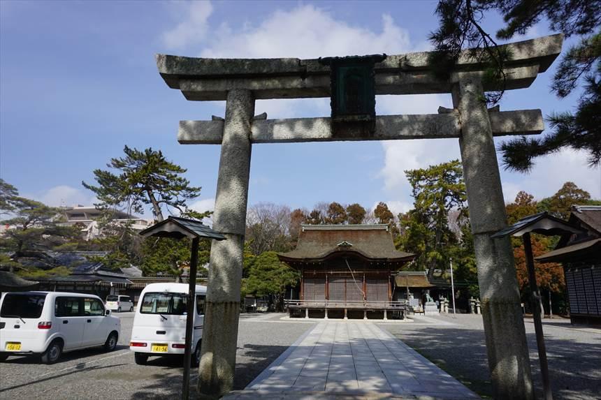 長浜八幡宮メイン画像